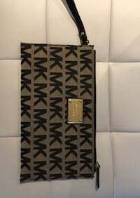 Mk clutch with card compartments brand new