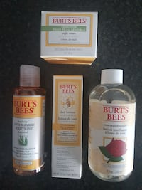 Burts Bees products new  Coquitlam, V3B 4T4
