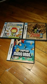 three Nintendo DS game cases Montréal, H2P 2E4