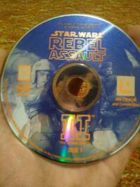 PC game star wars rebel assault 2 disk 1 and 2 Amarillo, 79102