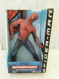 Vintage Spiderman Action Figure  vintage from 2002....