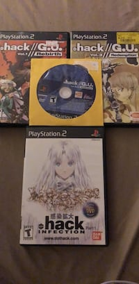 Dot HACK collection: vol.1-3, dotHACK infection  game w/ dvd movie 40 km