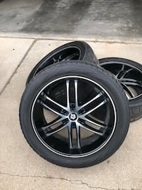 Very Near New 22 inch Rims & Tires Omaha, 68110