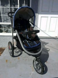 baby's black and blue jogging stroller Los Angeles, 91325