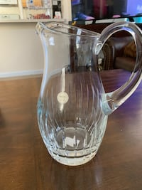 clear glass pitcher with lid Ashburn, 20148
