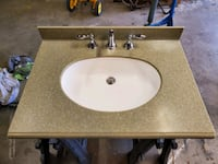 "31"" Bath Vanity Sink and Faucet"