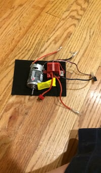 Black and red corded power tool New York, 11213