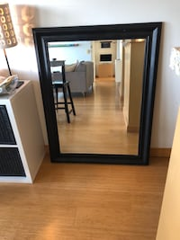 "35"" x 46"" Mirror with Black Frame"