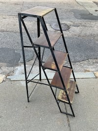 Display ladder plant stand