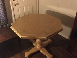 Dinning table real wood heavy