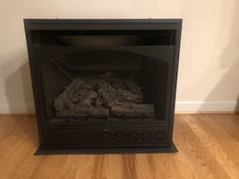 Fireplace gas, ventless,