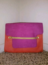 pink and orange crossbody clutch 2348 mi