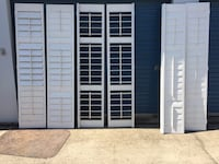 6 INTERIOR 8FT SHUTTERS $200 Huntersville, 28078