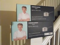 2 new Gordon Ramsey Royal Doulton saucepans New York