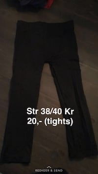 sorte tights Ågotnes, 5347