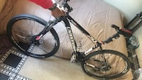 Black and white hardtail mountain bike New York, 11236