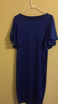 women's blue scoop-neck dress Alexandria, 22306