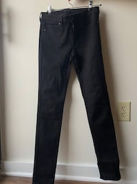 Size 26 Uniqlo Black Skinny Jeans  Washington, 20002