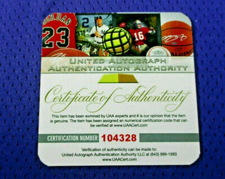 Kobe Bryant Autographed Game Issued Charity Jersey WOW! Full COA! b73d396e-c504-4e7a-8259-80c3833891bd