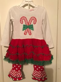 3t toddler christmas outfit