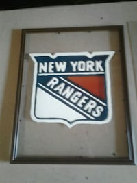 New York Rangers stained glass art  Gatineau, J8Z 1T7
