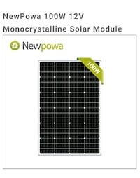 NewPowa solar panel Anchorage, 99503