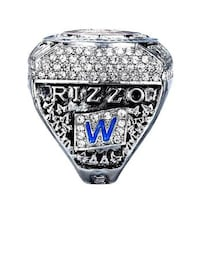 RIZZO-CUBS WORLD SERIES RING Arlington Heights