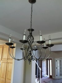 gray and white uplight chandelier Commerce City, 80022