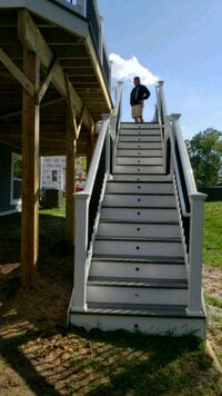 Instalation stairs and deck,EPDN waterdrainfordeck Woodbridge, 22191