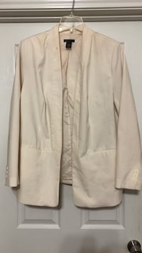 Women's white long-sleeved jacket Houston, 77095