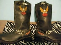 Harley Davidson boots with emblems Baltimore, 21211