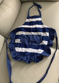 Girls stripe apron