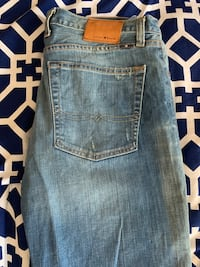 Men's luck brand jeans size 32w 30l