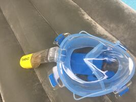 Snorkel and mask in one