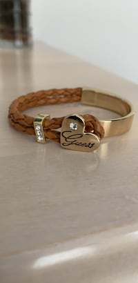 GUESS brown leather bracelet  Mississauga, L5B 1R2