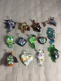 Glass pendant beads, prices $8 each Chesapeake, 23320