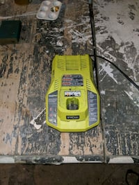 Ryobi 1 +multi battery charger lithium and nicad