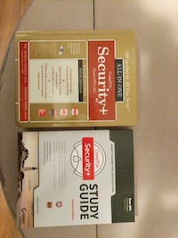 Two CompTIA Security+ SY0-501 books  Washington, 20012