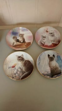 Vintage kitten cousins collectible plates Perris, 92570