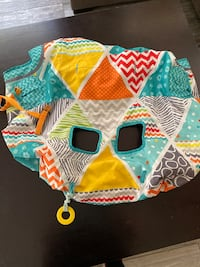Colorful baby seat cover