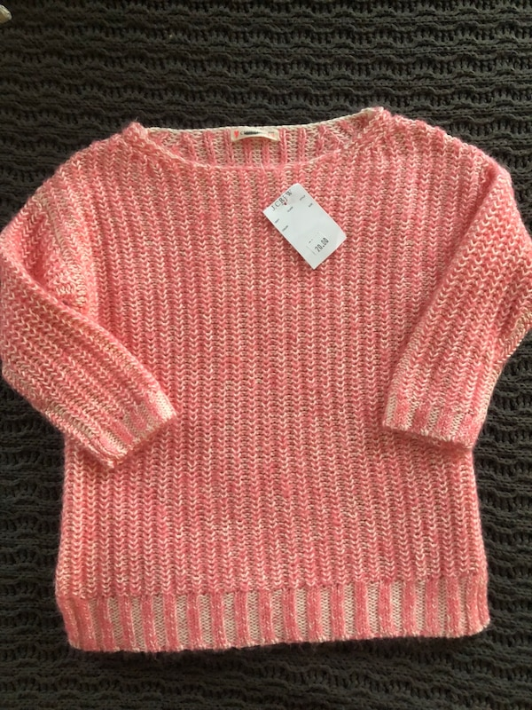 Girls 4/5t crew cut sweater with tag leesburg