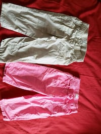 Girls capris pants size 6-8 Montreal