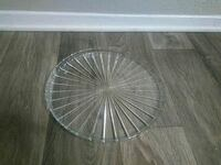 round clear cut glass bowl Euless, 76040