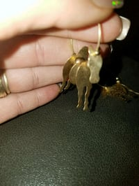 14k over Sterling horse earrings  Oklahoma City, 73108