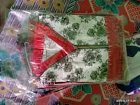 red and white floral textile Kolkata, 700130