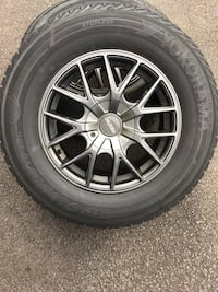 "Four 16""  Aluminum Wheels - Multi Fit bolt pattern, great condition."