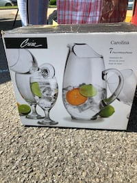 Carolina Crisa 7 piece Glassware Set Woodbridge, 22193