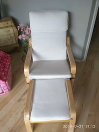 white and brown wooden armchair 3152 km
