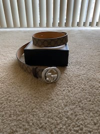 Authentic Gucci Belt  Silver Spring, 20904