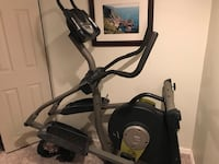 black and gray elliptical trainer Falls Church, 22042